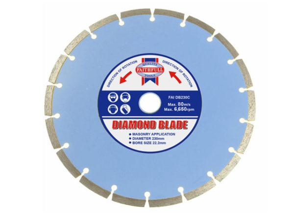 Contract Diamond Blade 230 x 22.2mm
