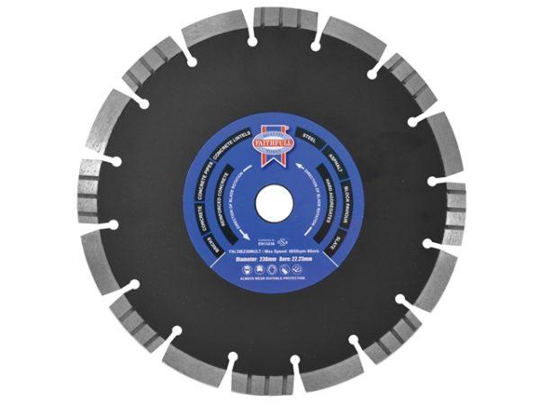 Multi Cut Diamond Blade 115 x 22mm