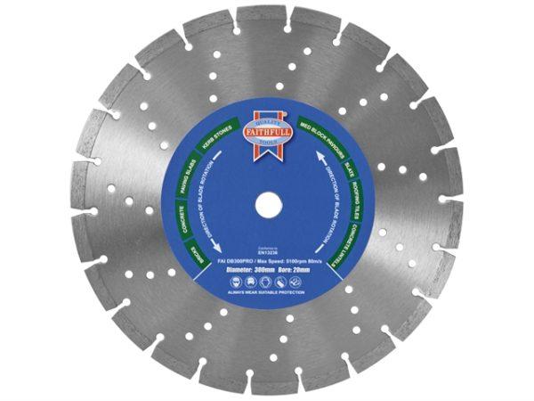 Professional Diamond Blade 125 x 22mm