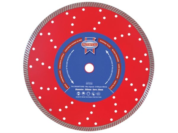 Turbo Cut Diamond Blade 300 x 20mm
