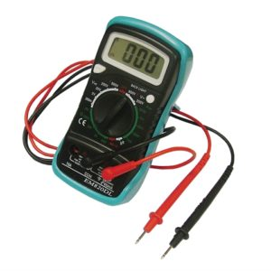Multimeter LCD Display