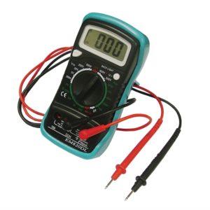Multimeter LCD Display