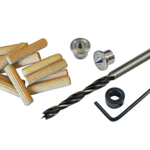 Dowel Kit 6mm Drill & Points