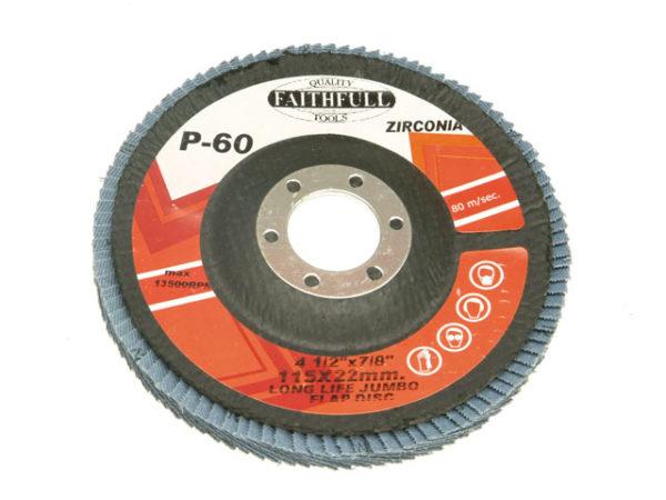 Flap Disc 115mm Fine