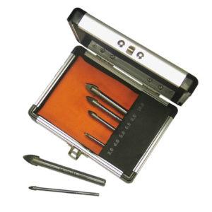 Tile & Glass Drill Bit Set 6 Piece 3-10mm