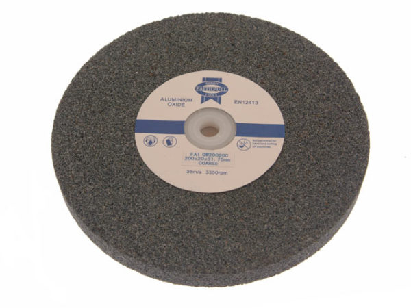 General Purpose Grinding Wheel 200 x 25mm Fine Alox