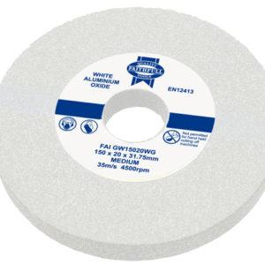 General Purpose Grinding Wheel 150 x 20mm White Medium