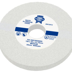 General Purpose Grinding Wheel 200 x 25mm White Medium