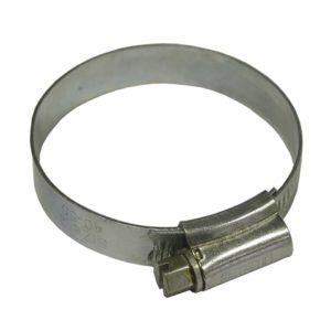 2X Hose Clip - Zinc MSZP 45 - 60mm