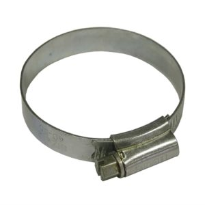 2 Stainless Steel Hose Clip 40 - 55mm