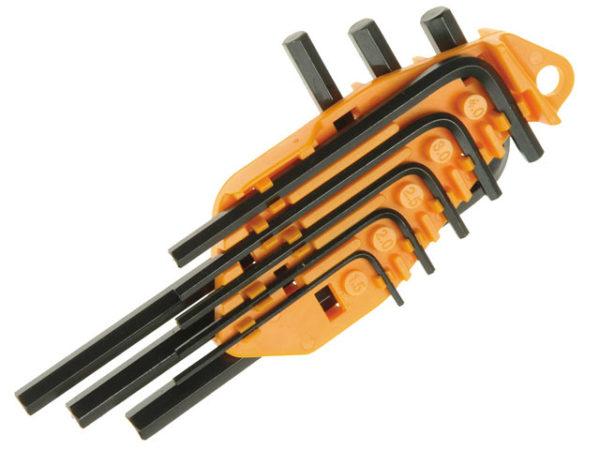 Hexagon Short Arm Key Set of 8 Metric (1.5-6mm)