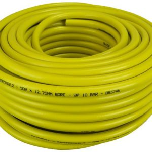 Heavy-Duty Reinforced Builder's Hose 50m 12.5mm (1/2in) Diameter