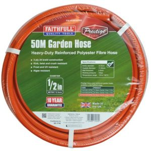 Prestige Heavy-Duty Garden Hose 50m 12.5mm (1/2in) Diameter