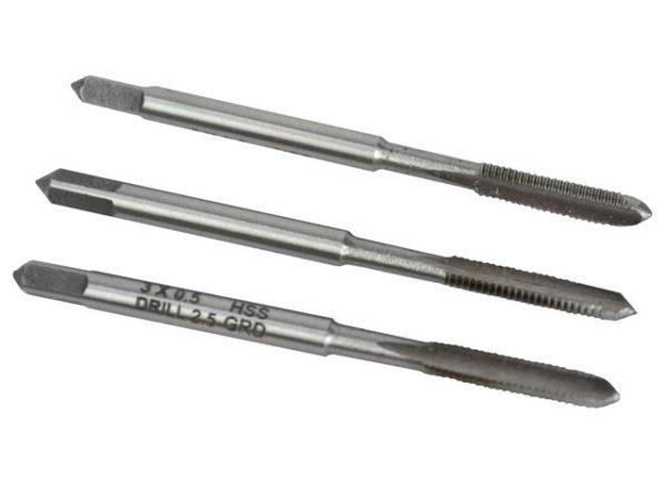 HSS Straight Flute Tap Set M3 x 0.5