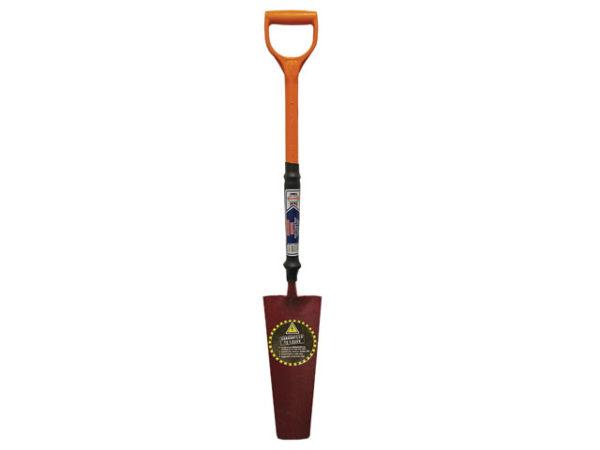 Drainage Shovel Fibreglass Insulated Shaft YD