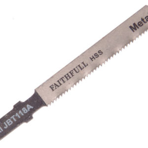 8009-HSS Metal Cutting Jigsaw Blades Pack of 5 T118A