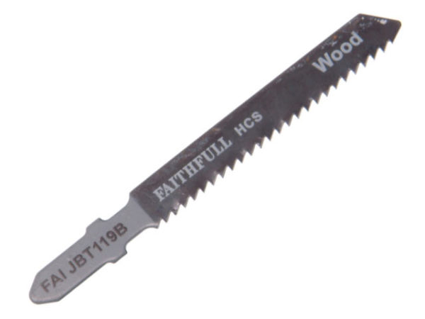 Wood Jigsaw Blades Pack of 5 T119B