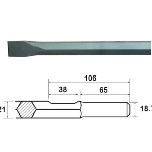 Kango Shank Chisel 380mm (914118)