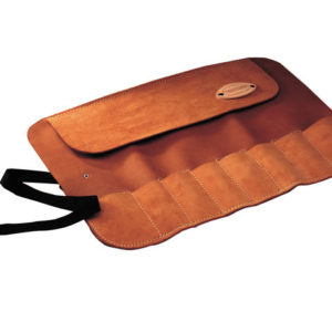 8 Pocket Leather Chisel Roll 33 x 47cm