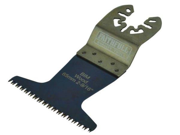 Premium Arc Cut Hardwood Bi-Metal Blade 65mm