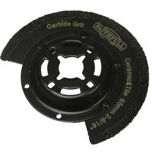 Multi-Functional Tool Carbide Grit Radial Saw Blade 65mm