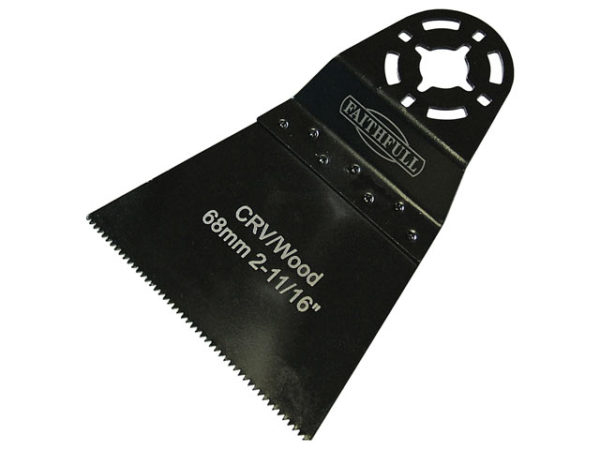 Multi-Functional Tool CrV Flush Cut Wood Blade Side Set 34mm