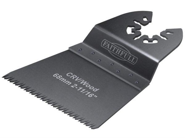 Multi-Functional Tool Flush Wood Blade Ground Set 68mm Pack of 5