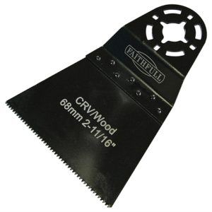 Multi-Functional Tool CrV Flush Cut Wood Blade Side Set 68mm