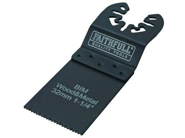 Bi-Metal Flush Cut Wood/Metal Blade 32mm