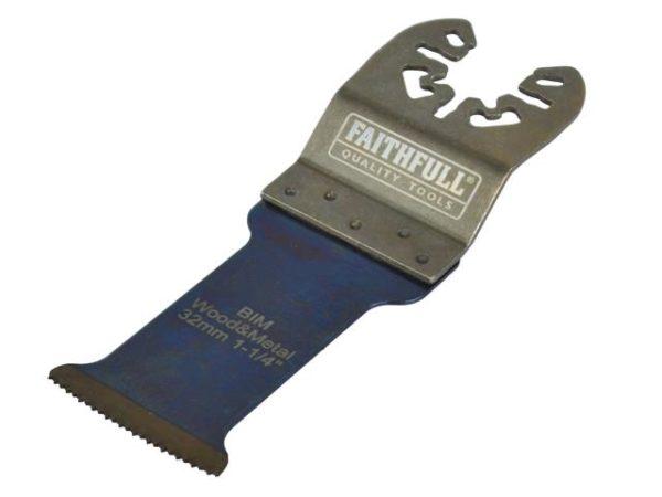 Premium Arc Cut Wood & Metal Bi-Metal Blade 32mm