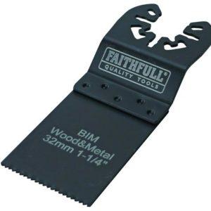Bi-Metal Flush Cut Wood/Metal Blades 32mm (Pack 5)