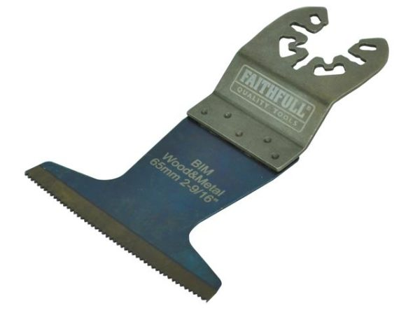 Premium Arc Cut Wood & Metal Bi-Metal Blade 65mm