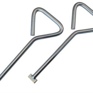 Manhole Keys (Pack of 2) 320mm (12.5in)