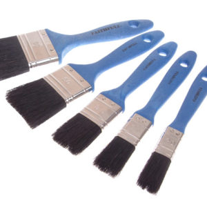 Utility Paint Brush Set of 5 19 25 38 50 & 75mm