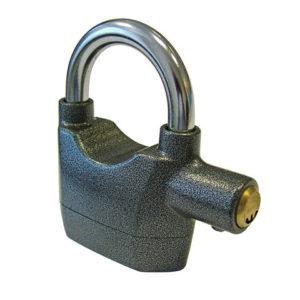 Padlock with Security Alarm 70mm