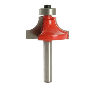 Router Bit TCT 9.5mm Rounding Over 1/4in Shank