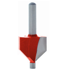 Router Bit TCT 45° Chamfer 1/4in Shank
