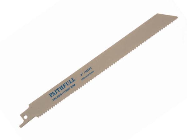S1118BF Sabre Saw Blade Metal 200mm 10 TPI (Pack of 5)
