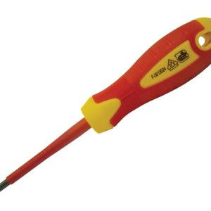 VDE Soft Grip Screwdriver Pozi Tip PZ2 x 100mm