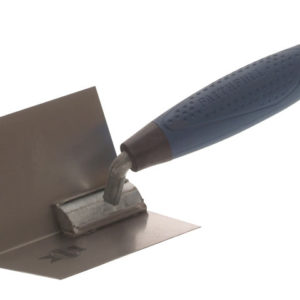 Internal Corner Trowel Stainless Steel Soft Grip Handle