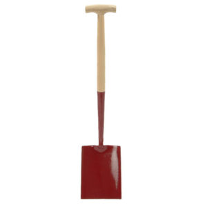 Solid Socket Shovel Square No.000 T-Handle