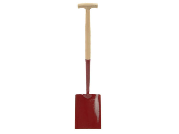 Solid Socket Shovel Square No.000 T-Handle