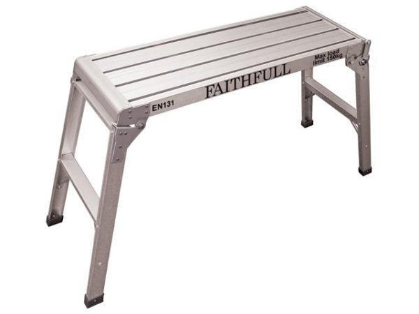 Fold Away Step Up Aluminium L100 x H52 x W30cm