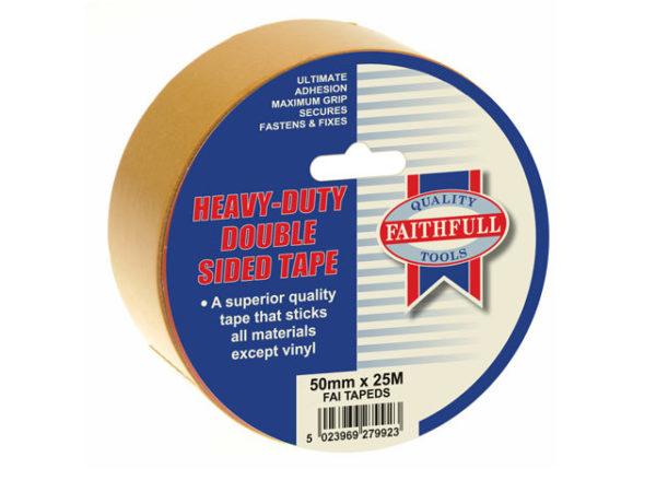 Double Sided Tape Heavy-Duty 50mm x 25m