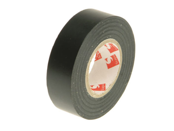PVC Electrical Tape Black 19mm x 20m