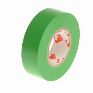 PVC Electrical Tape Green 19mm x 20m