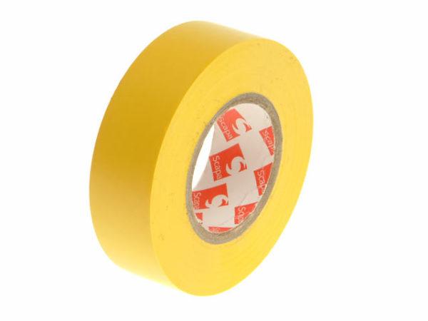 PVC Electrical Tape Yellow 19mm x 20m