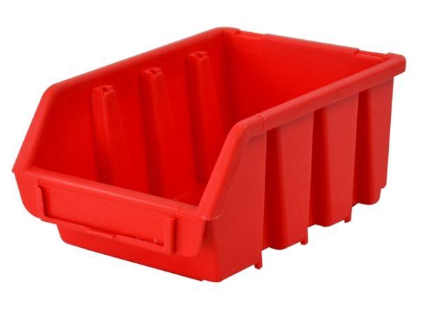 Interlocking Storage Bin Size 2 Red 116 x 161 x 75mm