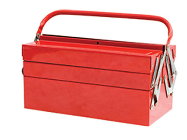 Metal Cantilever Toolbox - 5 Tray 40cm (16in)