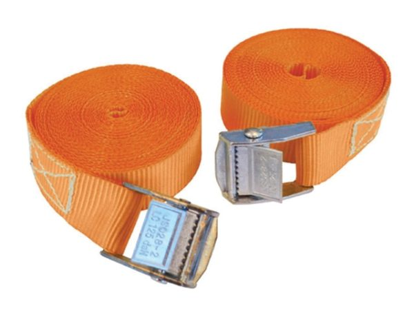 Cam Style Tie-Downs 25mm x 5m 2 Piece